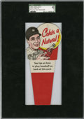 Baseball Cards:Singles (1950-1959), 1952 Coca-Cola Test Phil Rizzuto, Pitching Tips SGC 40 VG 3....