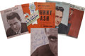 Music Memorabilia:Autographs and Signed Items, Johnny Cash Signed Tour Book & Others.... (Total: 5 Items)