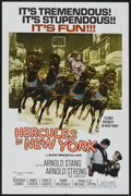 "Movie Posters:Action, Hercules in New York (American International, 1970). One Sheet (27"" X 41""). Action...."