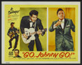 "Movie Posters:Rock and Roll, Go, Johnny, Go! (Hal Roach, 1959). Lobby Card (11"" X 14""). Rock andRoll...."