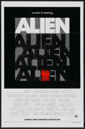 "Movie Posters:Science Fiction, Alien (20th Century Fox, 1979). One Sheet (27"" X 41"") Flat-FoldedAdvance. Science Fiction...."