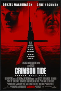 "Crimson Tide (Buena Vista, 1995). One Sheet (27"" X 40"") DS. War"