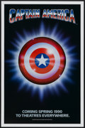 "Movie Posters:Action, Captain America (Columbia/Tristar, 1991). One Sheet (27"" X 41"") Advance. Action...."
