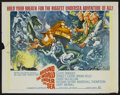 "Movie Posters:Adventure, Around the World, Under the Sea (MGM, 1966). Half Sheet (22"" X28""). Adventure...."