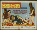 "Movie Posters:Adventure, Seven Slaves Against the World (Paramount, 1965). Half Sheet (22"" X28""). Adventure...."