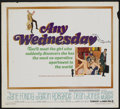 """Movie Posters:Comedy, Any Wednesday (Warner Brothers, 1966). Half Sheet (22"""" X 28"""").Comedy...."""