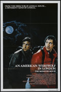 "Movie Posters:Horror, An American Werewolf in London (Universal, 1981). One Sheet (27"" X41""). Horror...."