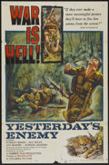 """Movie Posters:War, Yesterday's Enemy (Columbia, 1959). One Sheet (27"""" X 41""""). War...."""