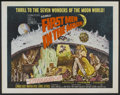 """Movie Posters:Science Fiction, First Men in the Moon (Columbia, 1964). Half Sheet (22"""" X 28"""").Science Fiction...."""