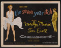 "Movie Posters:Comedy, The Seven Year Itch (20th Century Fox, 1955). Lobby Card Set of 8(11"" X 14""). Comedy.... (Total: 8 Items)"