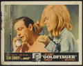 "Movie Posters:James Bond, Goldfinger (United Artists, 1964). Lobby Card Set of 8 (11"" X 14"").James Bond.... (Total: 8 Items)"