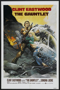 "The Gauntlet (Warner Brothers, 1977). One Sheet (27"" X 41""). Action"