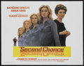 "Movie Posters:Drama, Second Chance (United Artists, 1981). Half Sheet (22"" X 28""). Drama...."