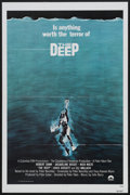 "Movie Posters:Adventure, The Deep (Columbia, 1977). One Sheet (27"" X 41"") Flat-Folded.Adventure...."