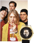 Music Memorabilia:Memorabilia, Kurt Cobain's Personally Owned, Stage and Screen-Worn Wrist Watch....