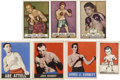 Boxing Cards:General, 1940's-1950's Boxing Cards Group Lot of 55....