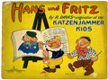 Platinum Age (1897-1937):Miscellaneous, Hans und Fritz #193 (Saalfield Publishing Co., 1929) Condition: GD....