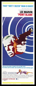 "Movie Posters:Crime, Point Blank (MGM, 1967). Insert (14"" X 36""). Crime...."