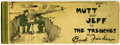 Platinum Age (1897-1937):Miscellaneous, Mutt and Jeff Book 5 (Ball Publications, 1916) Condition: VG....