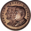 U.S. Presidents & Statesmen, Pair of Lincoln-Grant-McKinley Copper Medals.... (Total: 2 medals)