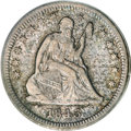 Seated Quarters, 1843-O 25C XF40 PCGS....