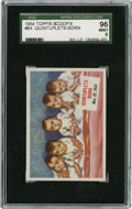 "Non-Sport Cards:General, 1954 Topps Scoop #64 ""Quintuplets Born"" SGC 96 Mint 9...."