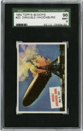 "Non-Sport Cards:General, 1954 Topps Scoop #20 ""Dirigible Hindenburg Burns"" SGC 96 Mint 9...."