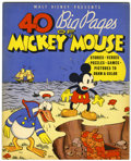 Platinum Age (1897-1937):Miscellaneous, Walt Disney Presents 40 Big Pages of Mickey Mouse #945 (Walt DisneyEnterprises, 1936). Condition: VF...