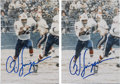 Football Collectibles:Photos, O. J. Simpson Signed Photographs Lot of 2.... (Total: 2 items)