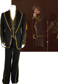 Music Memorabilia:Costumes, J.D. Sumner's Stage Worn Suit....