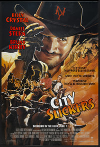 "City Slickers (Columbia, 1991). One Sheet (27"" X 40""). Comedy"
