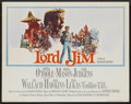 "Movie Posters:Adventure, Lord Jim (Columbia, 1965). Half Sheet (22"" X 28""). Adventure...."