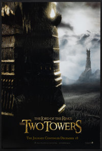 "The Lord of the Rings: The Two Towers (New Line, 2002). One Sheet (27"" X 40"") SS Advance. Fantasy"