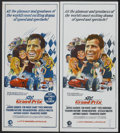 "Movie Posters:Sports, Grand Prix (MGM, 1967). Australian Daybills (2) (13"" X 30""). Sports.... (Total: 2 Items)"