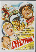 "Movie Posters:Crime, Checkpoint (Rank, 1956). British One Sheet (27"" X 40""). Crime...."