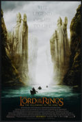 """Movie Posters:Fantasy, The Lord of the Rings: The Fellowship of the Ring (New Line, 2001). One Sheet (27"""" X 40"""") SS Advance. Fantasy...."""