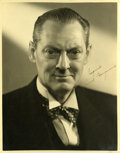 Movie/TV Memorabilia:Autographs and Signed Items, Lionel Barrymore Signed Photo....