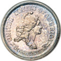 Patterns, 1869 10C Standard Silver Ten Cents, Judd-697, Pollock-776, HighR.6, PR65 NGC....