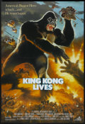 "Movie Posters:Adventure, King Kong Lives (DeLaurentis, 1986). One Sheet (27"" X 40"").Adventure...."