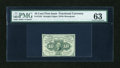 Fractional Currency:First Issue, Fr. 1242 10c First Issue PMG Choice Uncirculated 63....