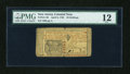 Colonial Notes:New Jersey, New Jersey April 8, 1762 30s PMG Fine 12....