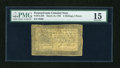 Colonial Notes:Pennsylvania, Pennsylvania March 16, 1785 2s/6d PMG Choice Fine 15....