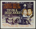 """Movie Posters:Crime, Tip on a Dead Jockey (MGM, 1957). Half Sheet (22"""" X 28"""") Style A. Crime...."""