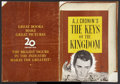 """Movie Posters:Drama, The Keys of the Kingdom (20th Century Fox, 1944). Pressbook(Multiple Pages, 16"""" X 22""""). Drama...."""