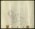 "Movie Posters:Animated, Pinocchio (RKO, 1940). Preliminary Animation Cell Drawing (10"" X12""). Animated...."