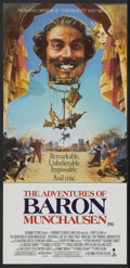 "Movie Posters:Adventure, The Adventures of Baron Munchausen (Columbia, 1988). AustralianDaybill (12.5"" X 26.5""). Adventure...."