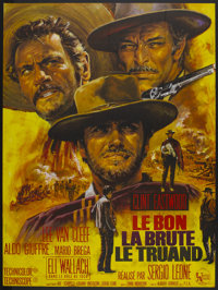 "The Good, The Bad and the Ugly (United Artists, 1968). French Grande (47"" X 63""). Western"