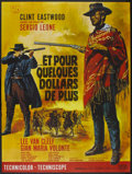 """Movie Posters:Western, A Fistful of Dollars (United Artists, 1967). French Grande (47"""" X 63""""). Western...."""