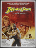 "Movie Posters:Adventure, Indiana Jones and the Temple of Doom (Paramount, 1984). FrenchGrande (47"" X 63""). Adventure...."