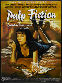 "Pulp Fiction (Miramax, 1994). French Grande (47"" X 63""). Crime"